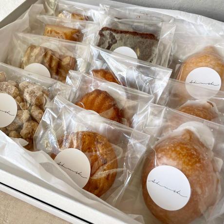 【店頭受け取り】お中元 焼菓子詰め合わせ(7種類 12個)