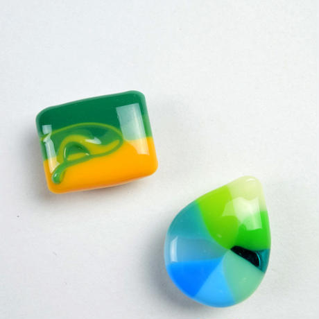 ガラスの帯留 10