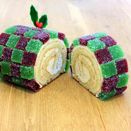 ひつじ製菓「クリスマス赤線ケーキ」(送料着払い)