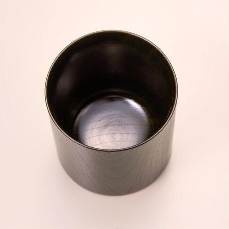 木目の美しい欅の漆塗マグカップです。 Keyaki Mug Cup グリーン SX-0596