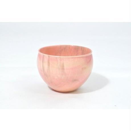 木製栃材を使用したカラフルなぐい呑みです Ochoko Colorful ピンク SX-0657