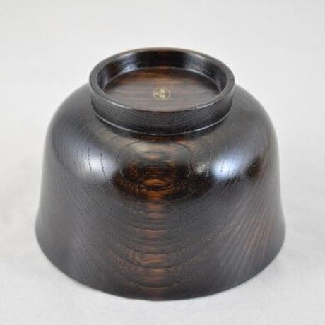 栓3.7羽反汁椀 黒摺 SO-354