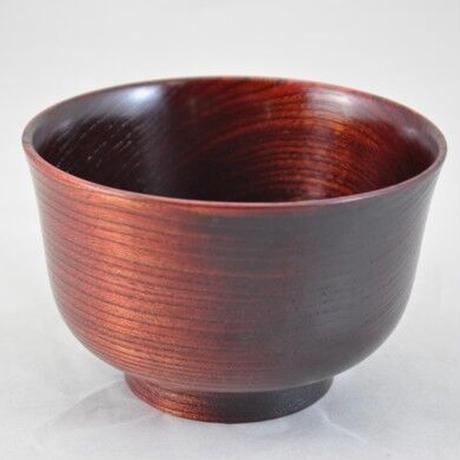 栓3.7羽反汁椀 赤摺 SO-353