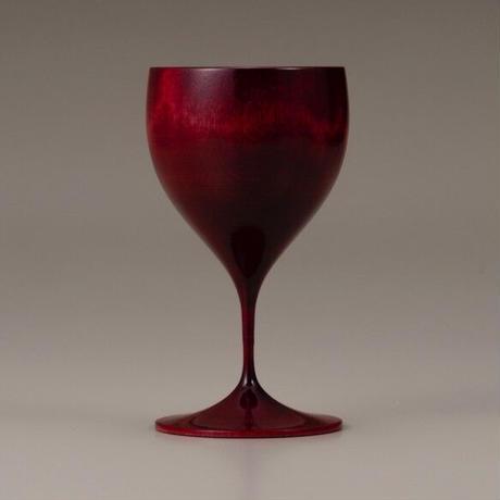 木製ワイングラス Chardonnay Colorful レッド SX-604