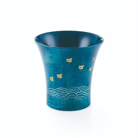 Cool Cup ブルー 波千鳥 SX-322NA【クールカップ】