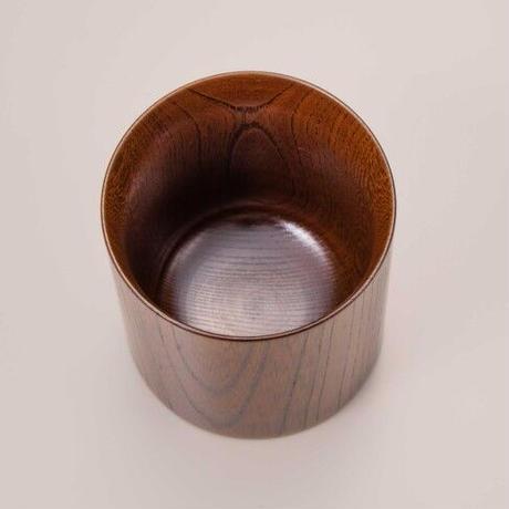木目の美しい欅の漆塗マグカップです。 Keyaki Mug Cup ナチュラル SX-0597