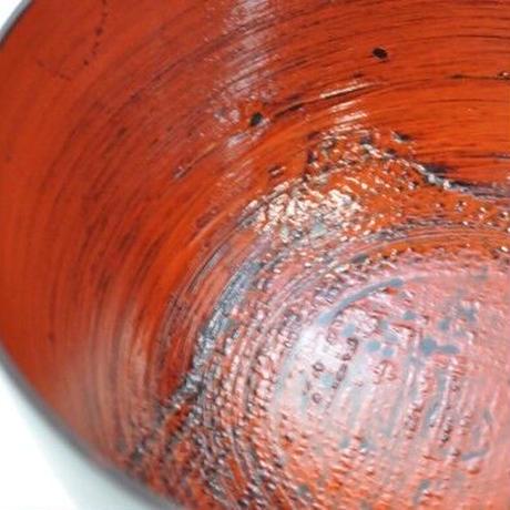 国産山中塗木製汁椀 欅3.7胴張汁椀 見付布根来 山中塗 嘉匠菴 SO-0540