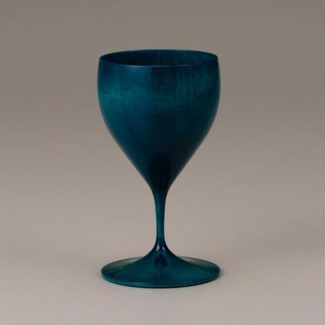 木製ワイングラス Chardonnay Colorful ブルー SX-603