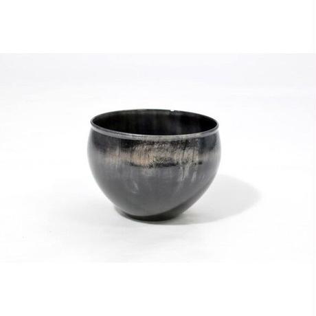 木製栃材を使用したカラフルなぐい呑みです Ochoko Colorful ブラック SX-0658