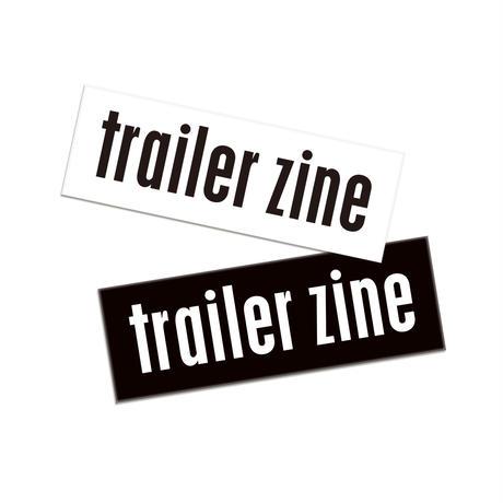 trailer zine vol.1 & vol.2 set