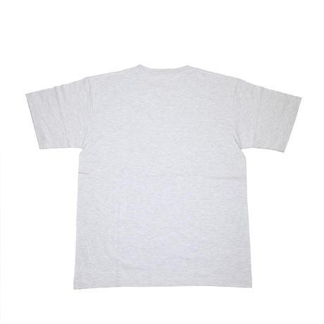 """ULTRA HEAVY(ウルトラヘビー)""""Tシャツ CLASSIC-03 UHマーク刺繍 ASH/PURPLE(L)"""""""
