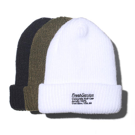 "Fresh Service""CORPORATE KNIT CAP / ニットキャップ"""