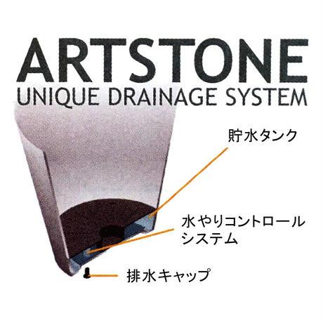 """amabro(アマブロ)""""ART STONE PLANTER  LL 12号(BK,BR,GY,NV)"""""""
