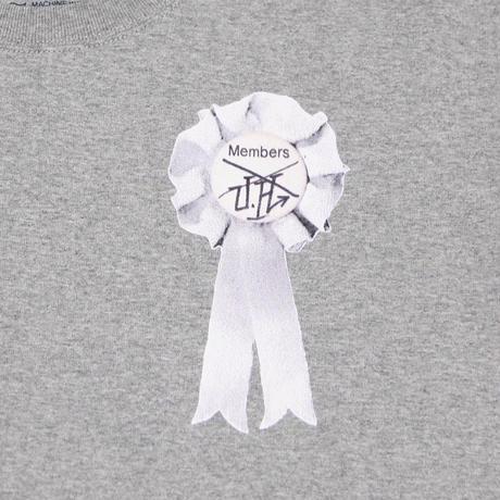 "ULTRA HEAVY(ウルトラヘビー)""Tシャツ Members GRAY/WHITE(L,WMNS-Free)"""