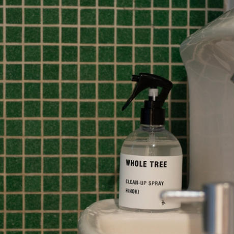 "WHOLE TREE(ホール ツリー)""CLEAN-UP SPRAY HINOKI(250ml)"""