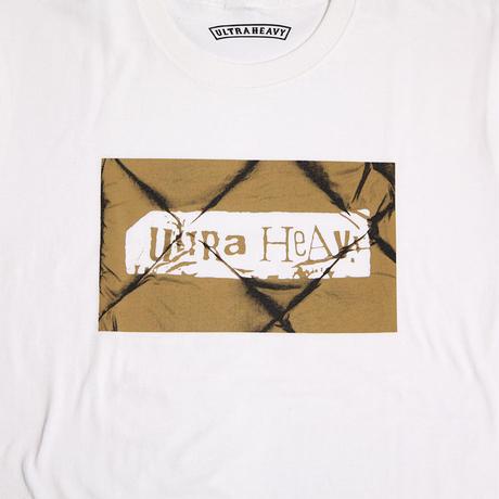 """ULTRA HEAVY(ウルトラヘビー)""""Tシャツ ダウンベストのU.H WHITE/BROWN(M,L)"""""""