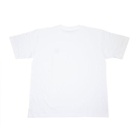 "ULTRA HEAVY(ウルトラヘビー)""Tシャツ CLASSIC-03 UHマーク刺繍 WHITE/RED(XL)"""