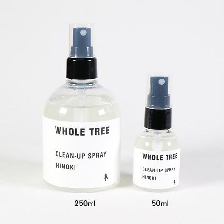 "WHOLE TREE(ホール ツリー)""CLEAN-UP SPRAY HINOKI(250ml)"""