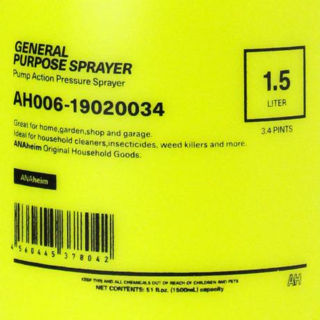 "ANAheim(アナハイム)""General Purpose Sprayer / ジェネラルパーパススプレイヤー(専用アタッチメント付き)"""