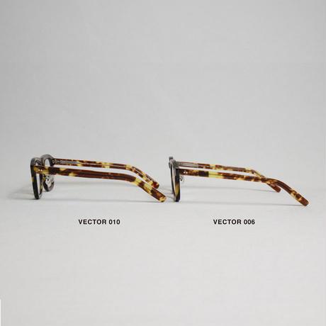"MEGANEROCK(メガネロック)""VECTOR 010(柿) / ベクター 010"""