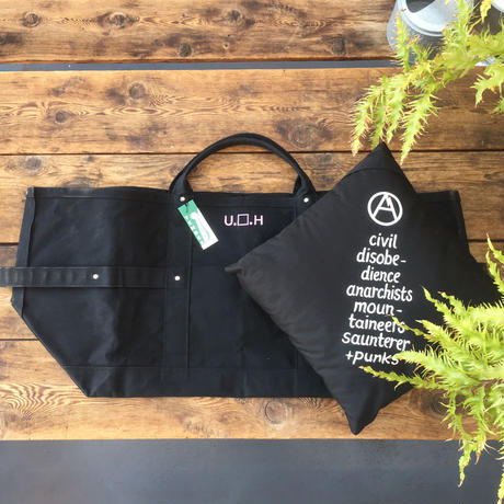"ULTRA HEAVY×TEMBEA""BLACK HOLE TOTE(BLACK)"""
