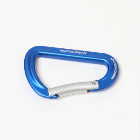 """【在庫お問い合わせください】MOUNTAIN RESEARCH""""Carabiners(BLUE)"""""""