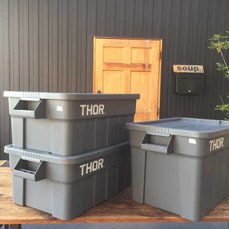 Thor Large Totes With Lid 75L /  ソー ラージ トート ウィズ リッド 75L
