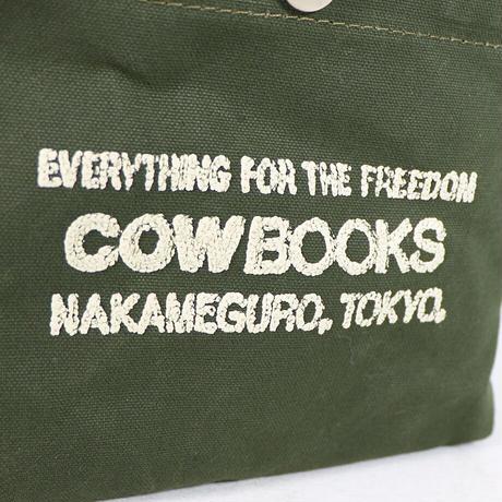 "COW BOOKS(カウブックス)""Container / コンテナ mini(Green×Ivory)"""