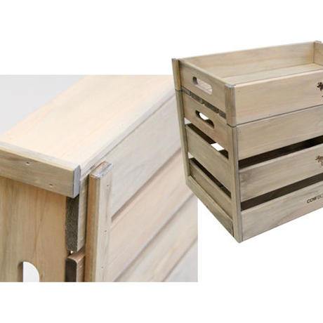 "COW BOOKS(カウブックス)""Wood Box X-Small"""