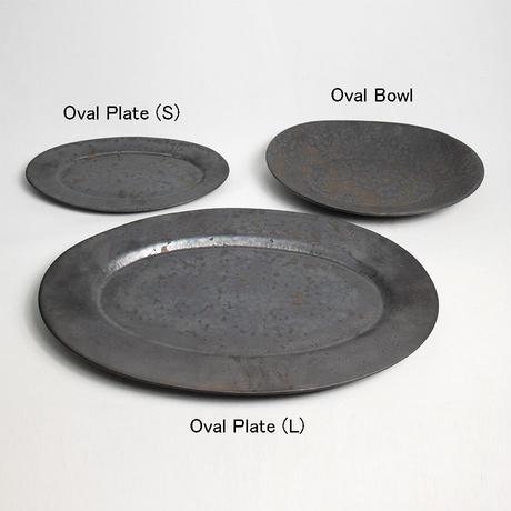 "ONE KILN CERAMICS(ワンキルンセラミックス)""Oval Plate(S)"""