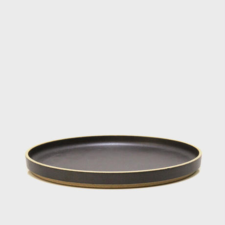 "HASAMI PORCELAIN""Plate φ185 ブラック(HPB003)"""