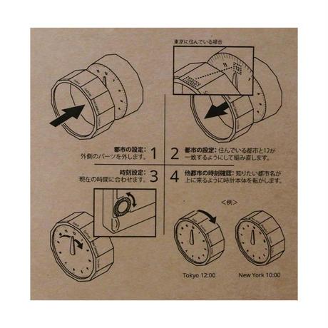 "MASAFUMI ISHIKAWA ""WORLD CLOCK / ワールドクロック"""