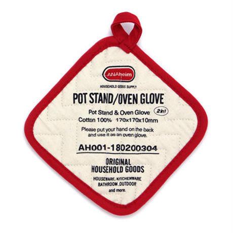 """Anaheim(アナハイム)""""Pot Stand/Oven Glove / ポットスタンド/オーブングローブ"""""""