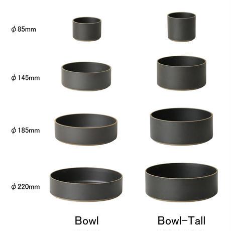 "HASAMI PORCELAIN""Bowl φ255 ブラック(HPB011)"""