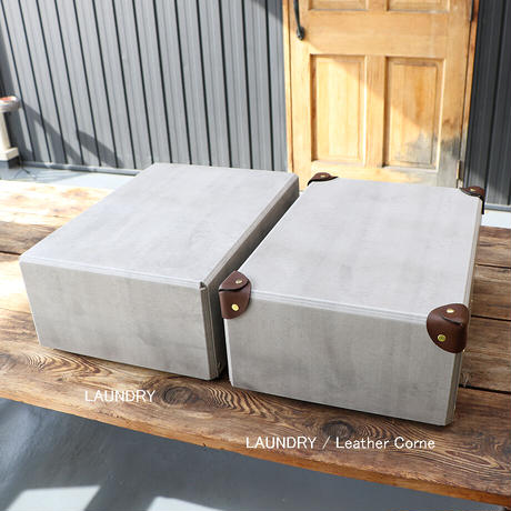 "STACK CONTAINERS(スタックコンテナーズ)""PAPER CONTAINER / CLASSIC(LAUNDRY Leather Corne)"""
