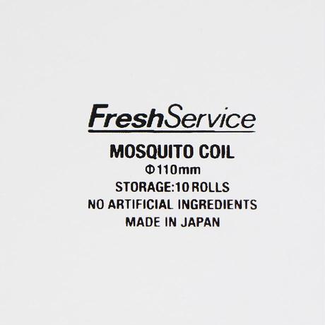"FreshService""MOSQUITO COIL / 蚊とり線香"""