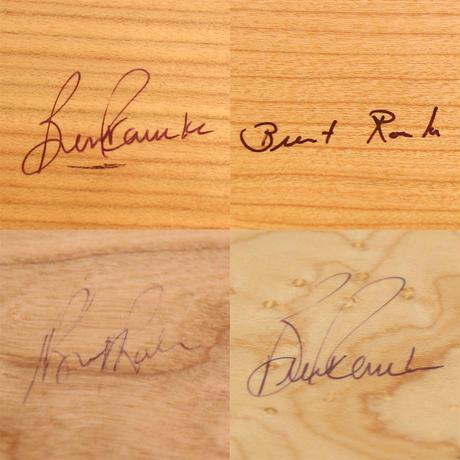 "Brent Rourke(ブレント ルーク)""SHAKER BOX / シェーカーボックス ハンドル付き チェリー(M)"""