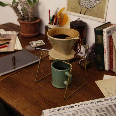 "FORM×amabro""Dripper Stand / ドリッパースタンド(BRASS,COPPER)"""