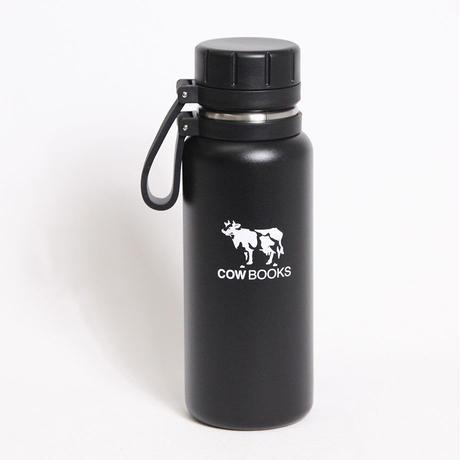 "COW BOOKS(カウブックス)""Stainless Bottle 500ml / ステンレスボトル(BK,WH)"""