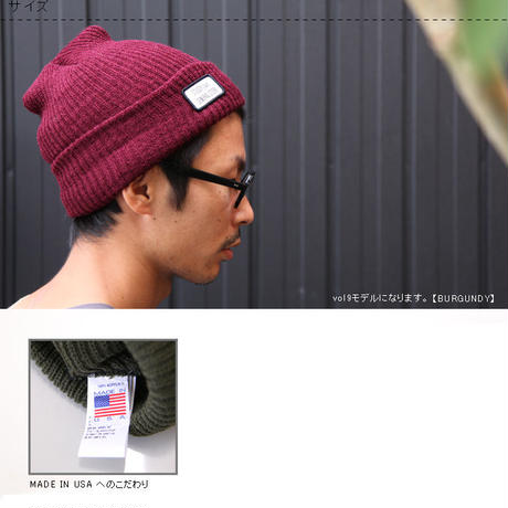 "STUSSY Livin' GENERAL STORE ""GS New Watch Cap / ウォッチキャップ Vol11"""