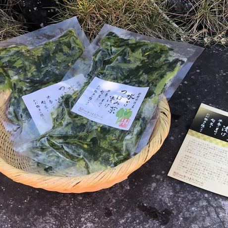 水かけつぼみ菜漬け 5パックセット