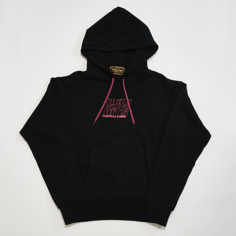 NEW WAVE HITS SWEAT PULLOVER (BLACK)