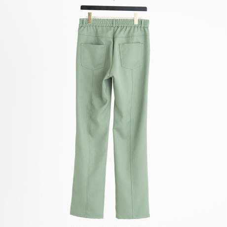 CENTER SWITCHING COLOR ACTIVE  PANTS(PISTACHIO GREEN)