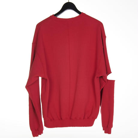 DAMAGE CREW SWEAT(RED)
