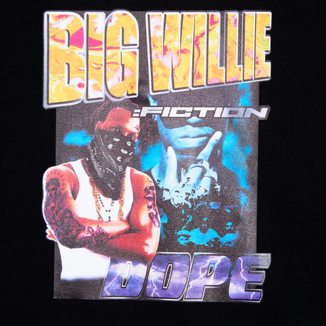 BIG WILLIE TEE SHIRTS(BLACK)