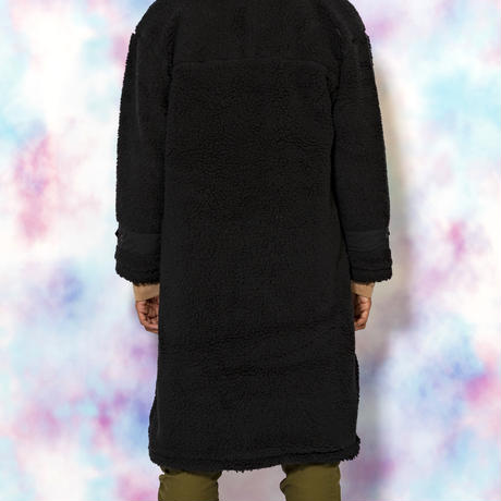 BOA LONG COAT(BLACK)