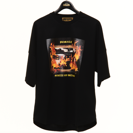 STREET OF DREAMS BIG TEE (BLACK)