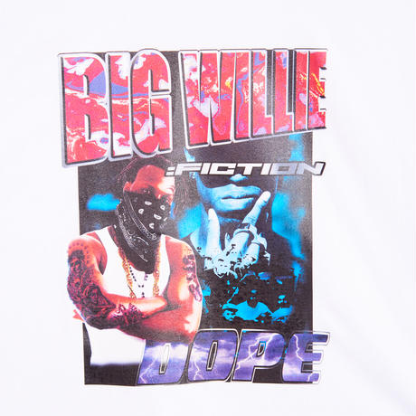 BIG WILLIE TEE SHIRTS(WHITE)