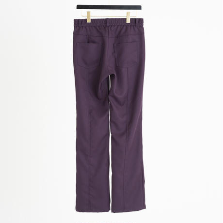 CENTER SWITCHING COLOR ACTIVE  PANTS(PURPLE)