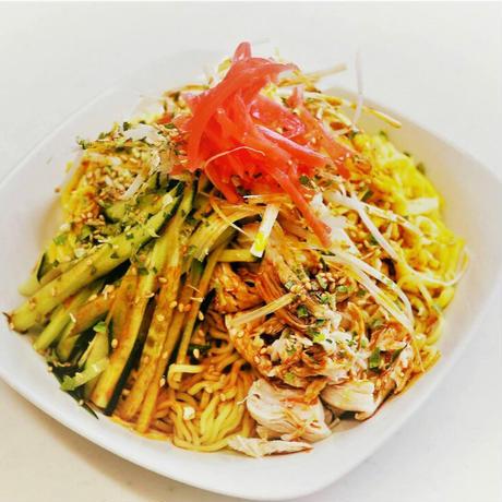 勝浦タンタンメン食べ比べセット(温・冷やし中華)